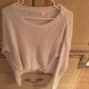 NWOT never worn cropped sweater